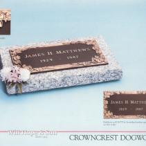 24×12 Crowncrest Dogwood