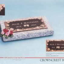 24×12 Crowncrest Rose