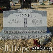 Rossell   Barre Gray slant & base
